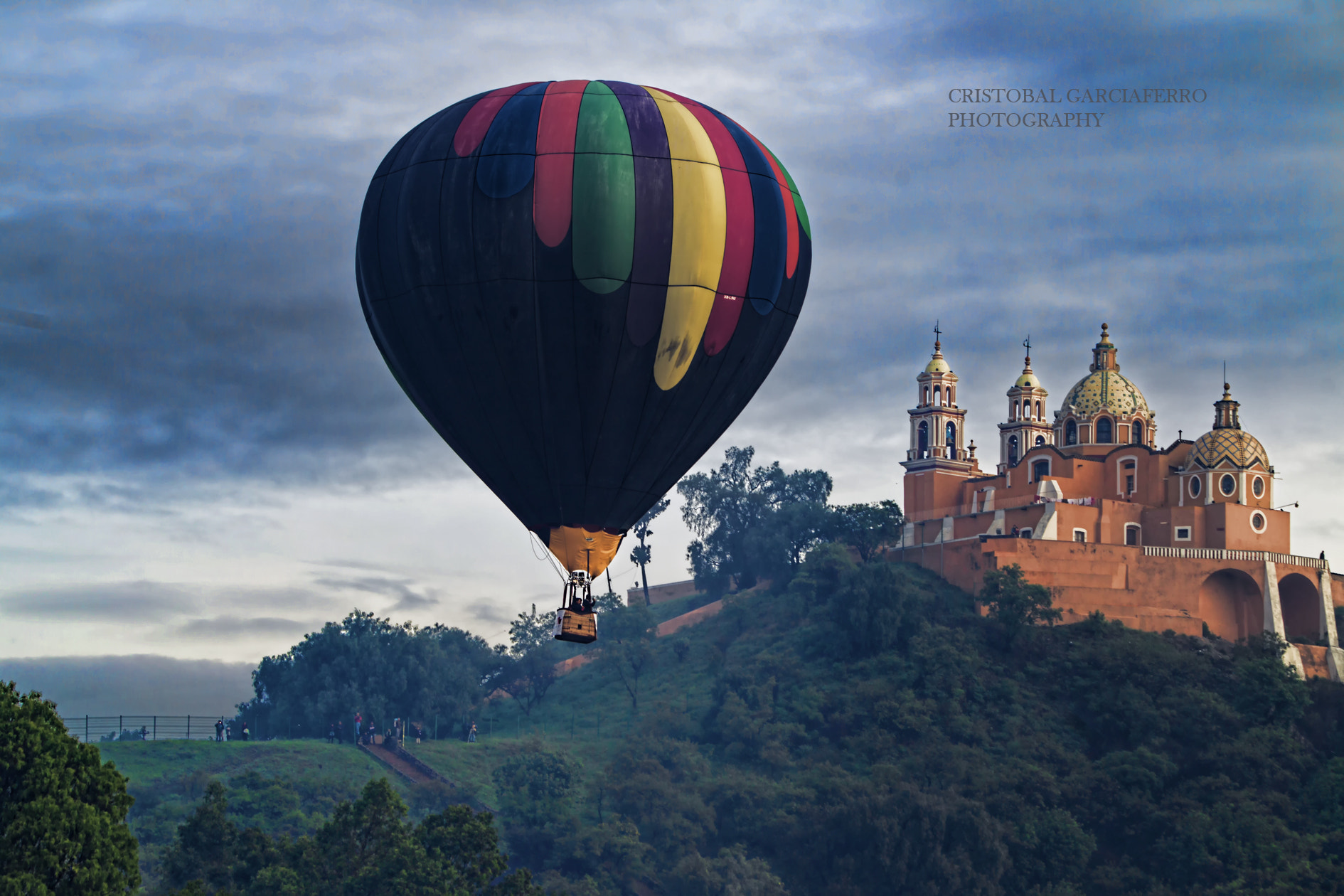 Photograph Church and Balloon by Cristobal Garciaferro Rubio on 500px