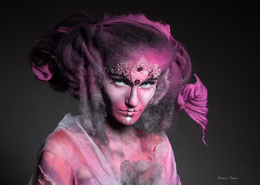 Pink Smoke by Antonio Lozano on 500px.com