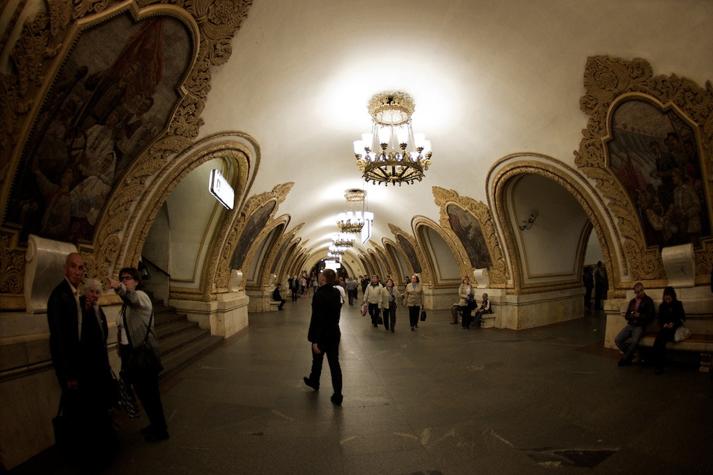 Photograph The Moscow Metro.  by Alex Kom on 500px