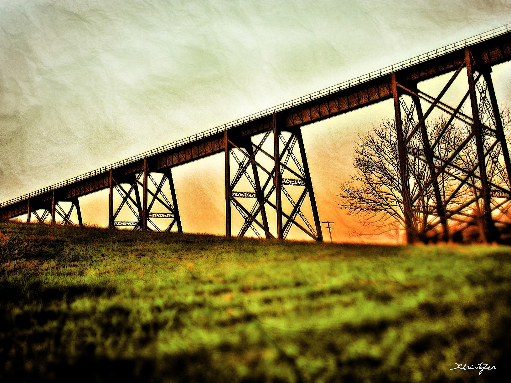 Photograph Moodna Aqueduct by Xhristofer Le'Ur on 500px