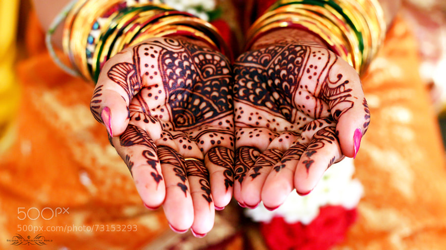 Photograph Mehndi by Krishna Kumar on 500px