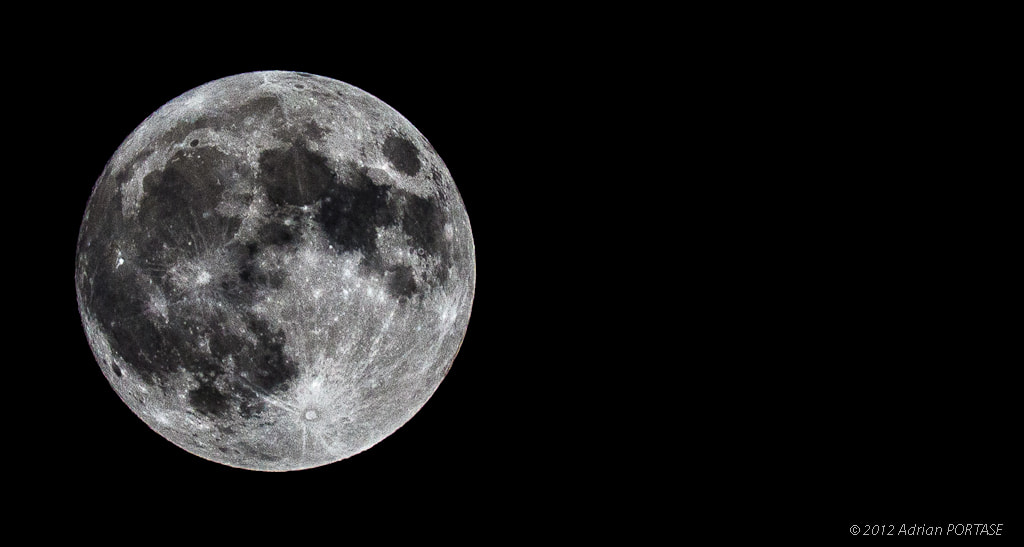 Photograph Full MOON by Adrian Portase on 500px