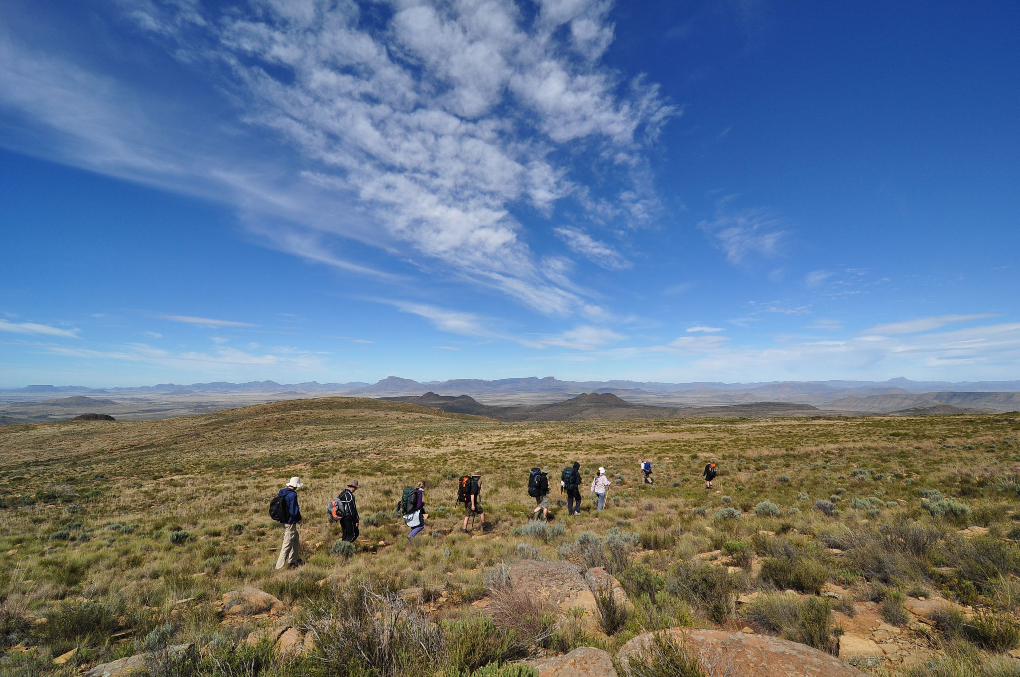 Photograph Karoo hikers by Emile le Roux on 500px