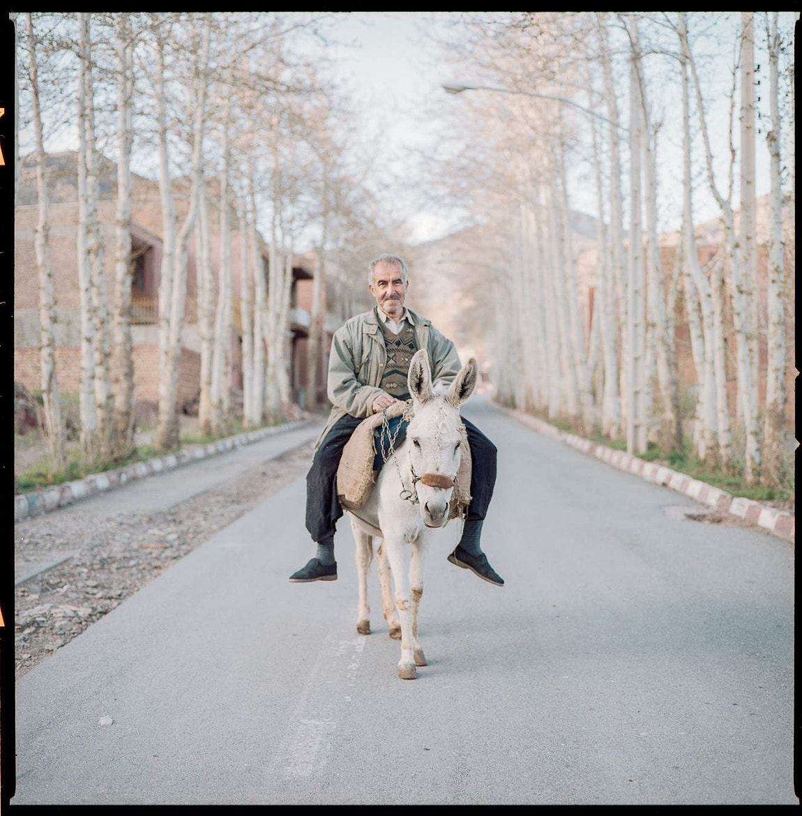 Photograph Villager on Donkey, Abyaneh, Iran by Chiaro Scurist on 500px