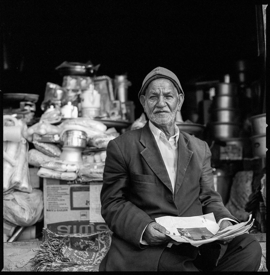 Photograph Shop Owner, Yazd, Iran by Chiaro Scurist on 500px