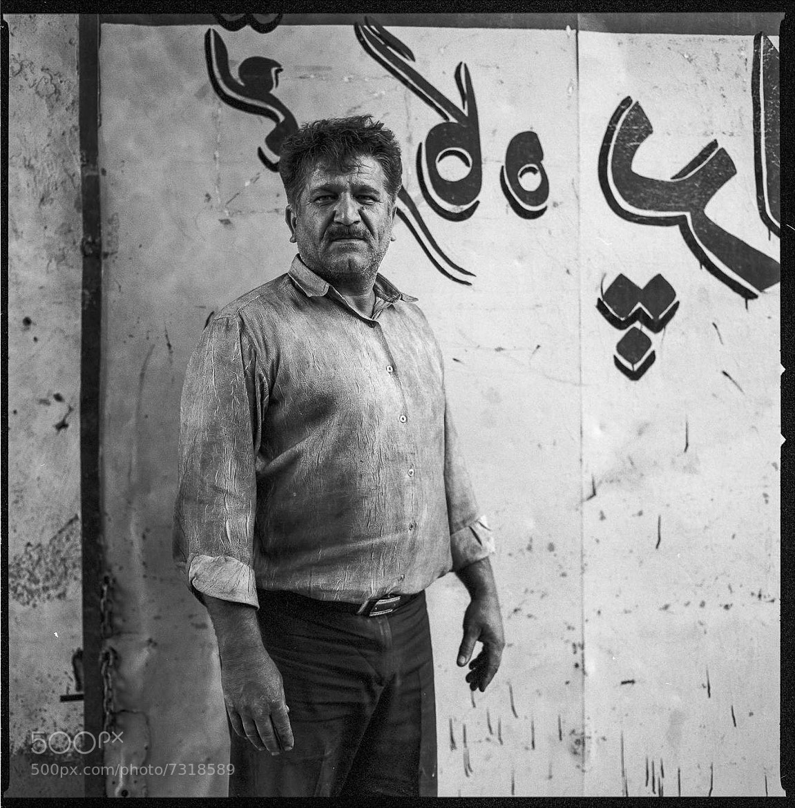 Photograph Work Shirt, Yazd, Iran by Chiaro Scurist on 500px