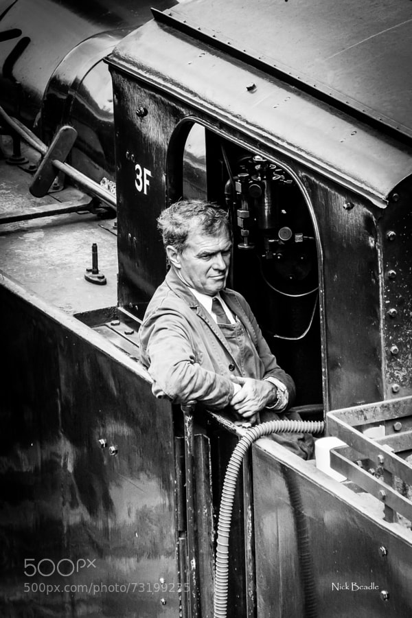 Photograph Train Driver by Nick Beadle on 500px