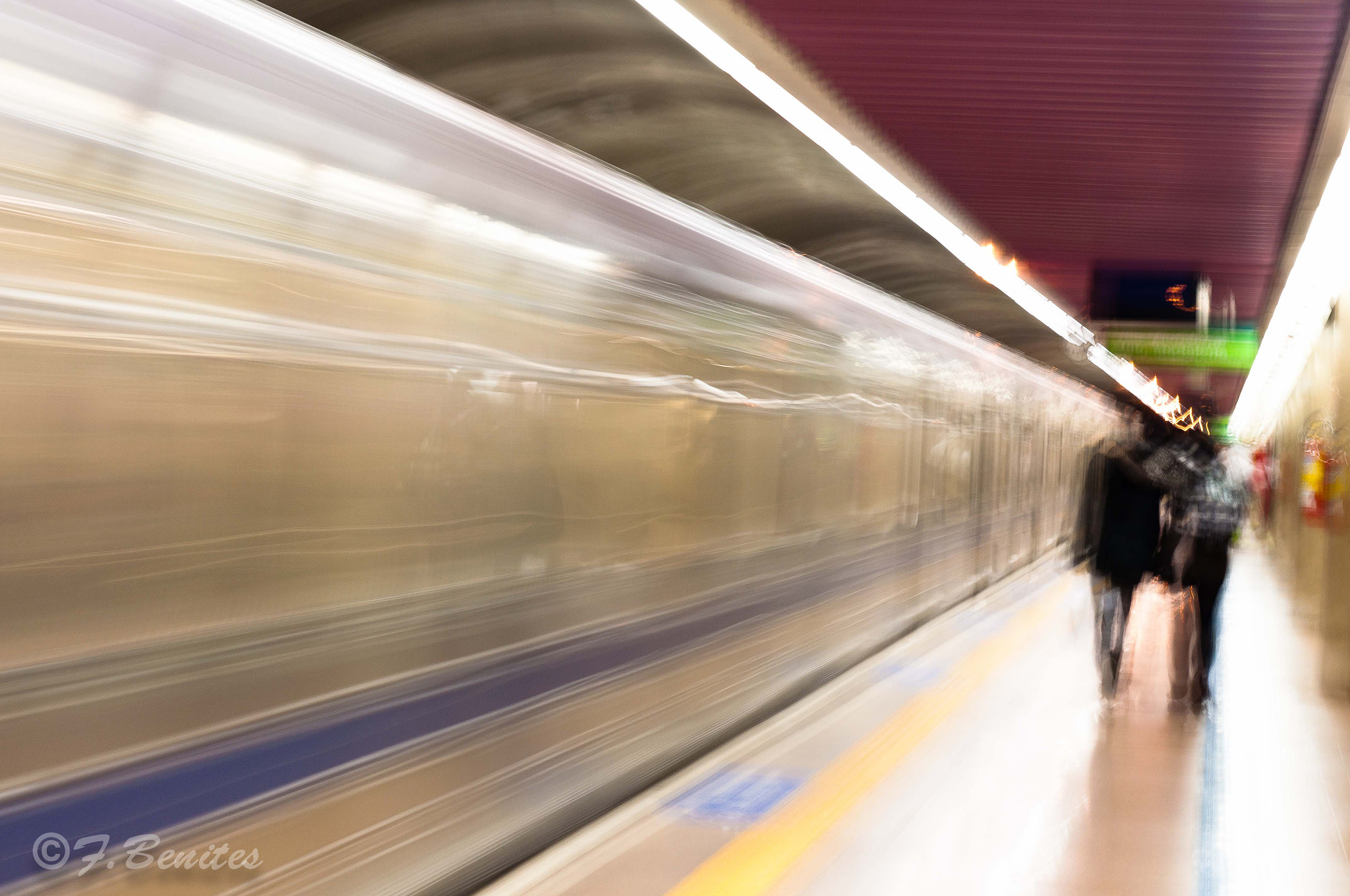 Photograph Let's go by tube... by Fabio  Benites on 500px