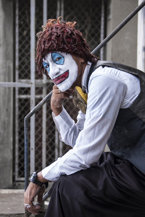 Photograph Payaso Siniestro by Jose Javier Roldos C. on 500px