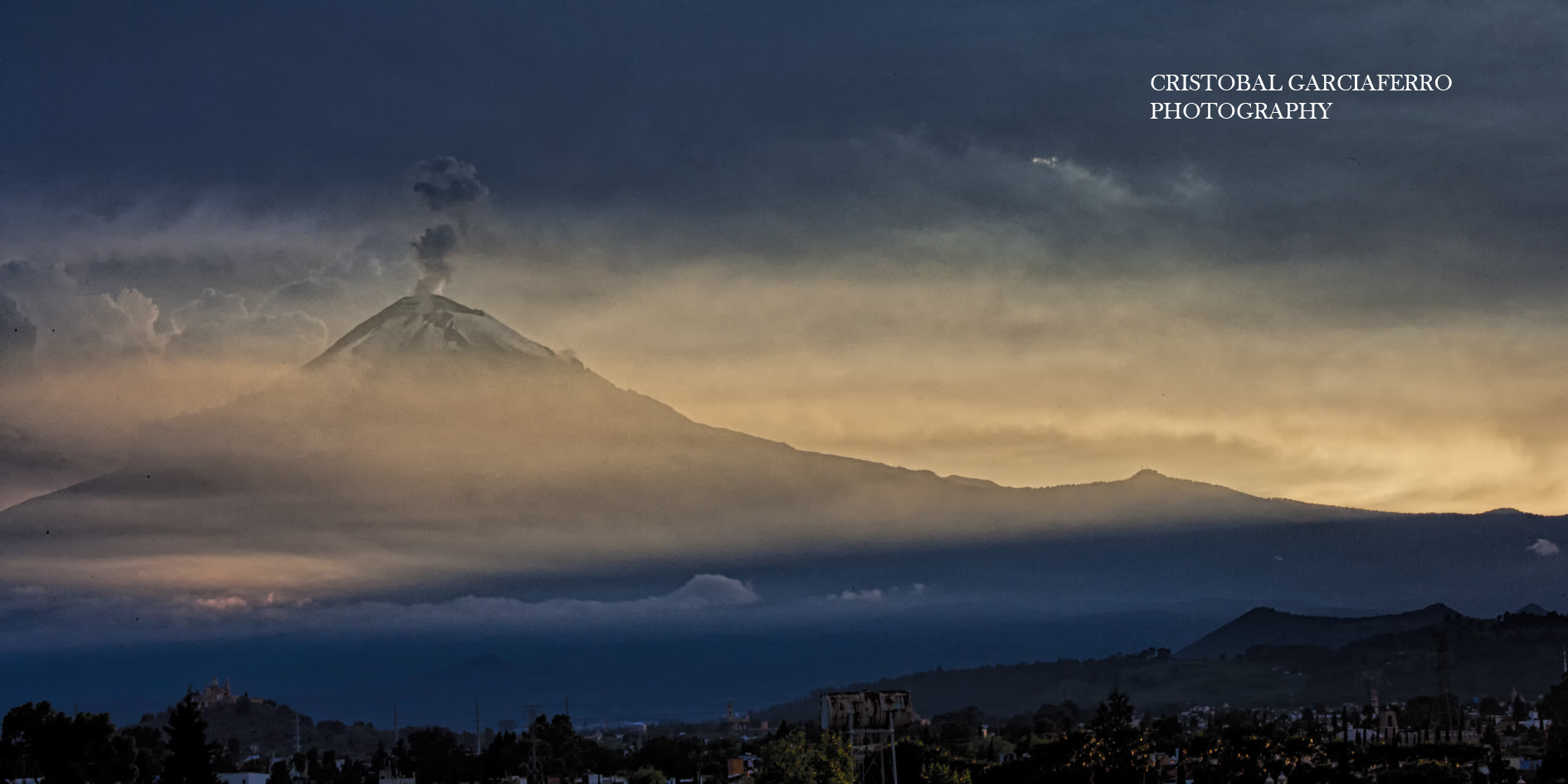 Photograph Sunset and Popocatepetl by Cristobal Garciaferro Rubio on 500px