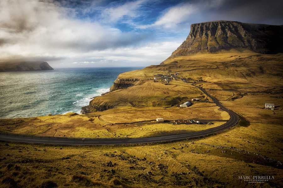 Photograph The Road To Gasadalur by Marc Perrella on 500px