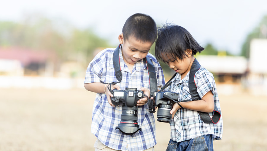 Photograph Kids photographer by Sasin Tipchai on 500px