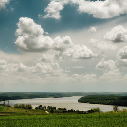 Danube and sky