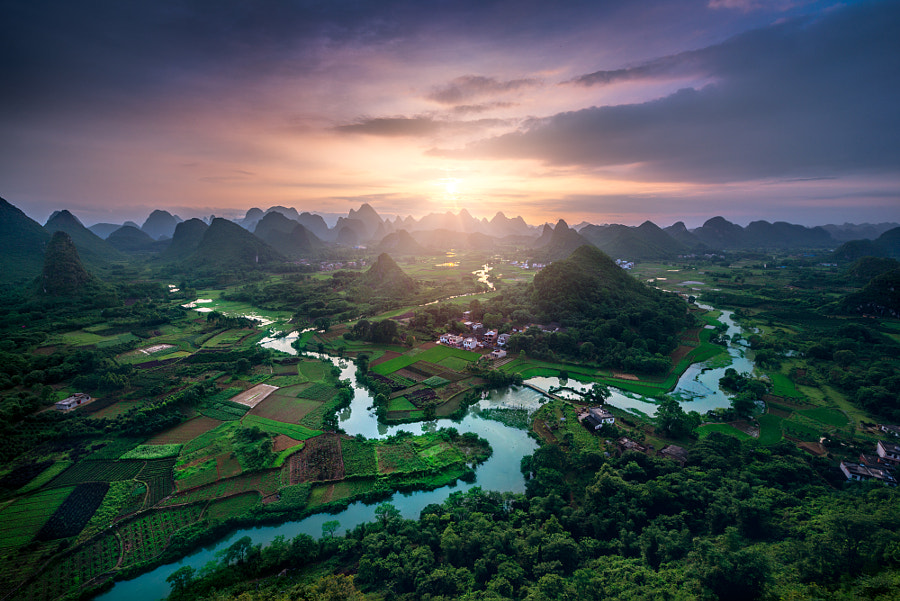 Guilin Hilltop by Tom Anderson on 500px.com