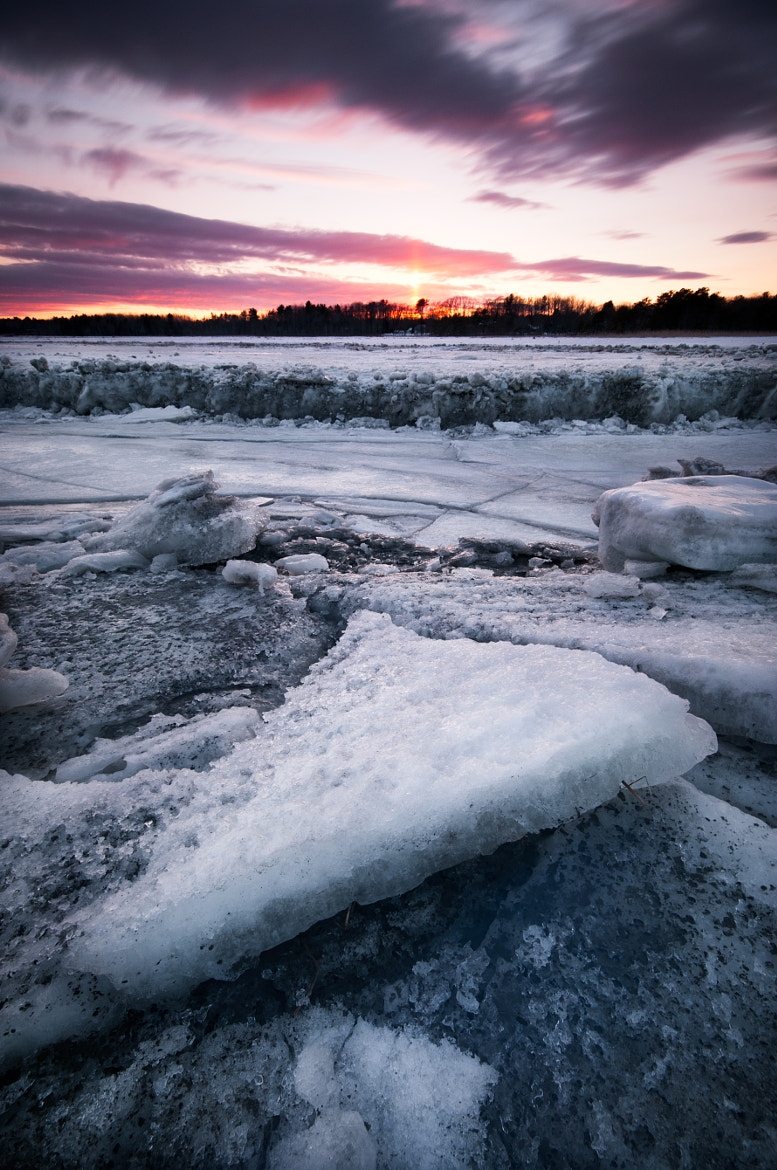 Photograph Ice Flow by Moe Chen on 500px