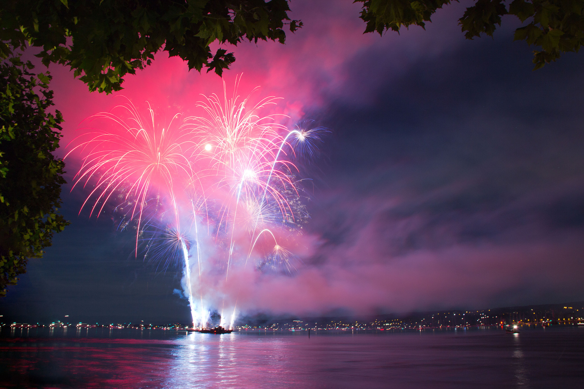 Photograph Firework @ lake of constance by Jochen Auer on 500px
