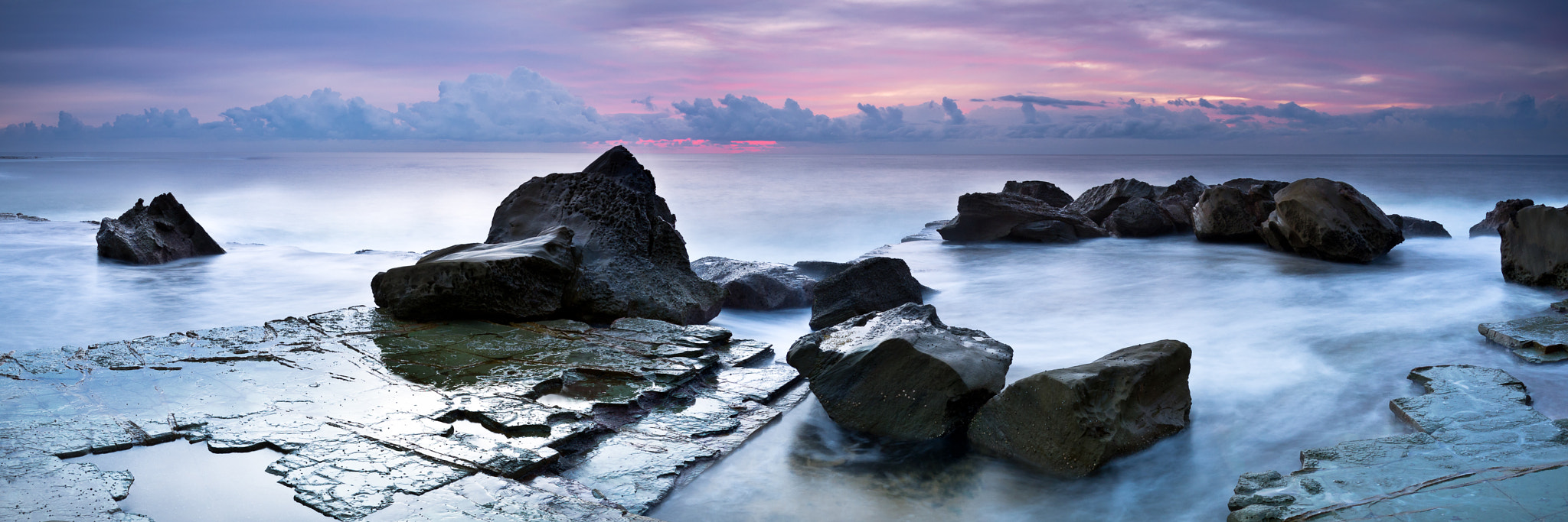 Photograph Rocks in the Wash by Mathew Courtney on 500px