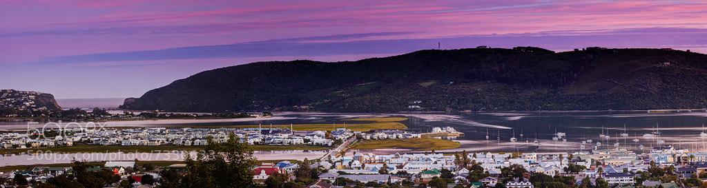 Photograph Knysna Sunset Panorama by Chris  Cloete on 500px