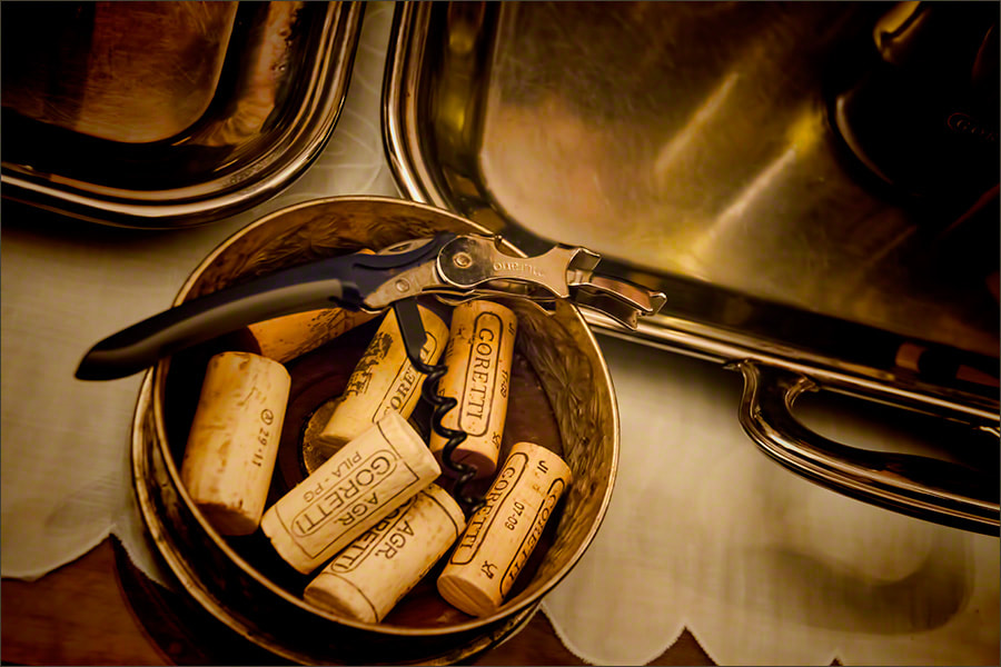 Photograph Wine Corks, Goretti Winery, Italy by Andrew Barrow LRPS on 500px