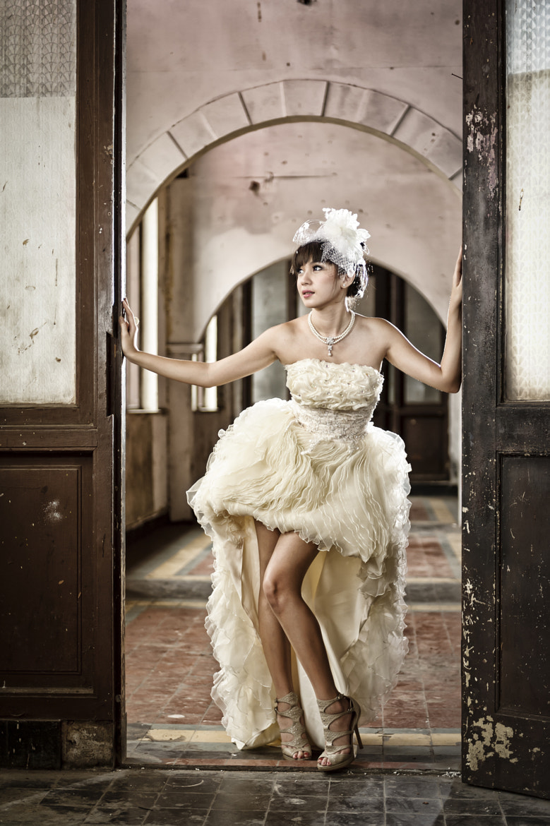Photograph * Winny in White IV * by Denny Siauw on 500px