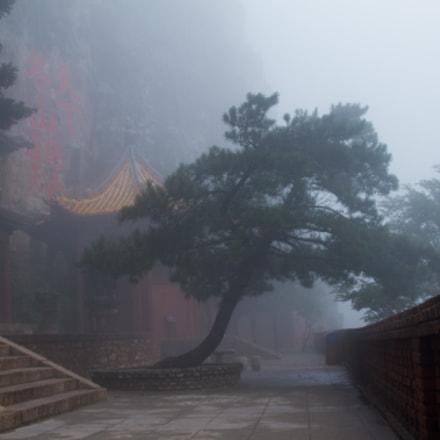 cloudy monastery