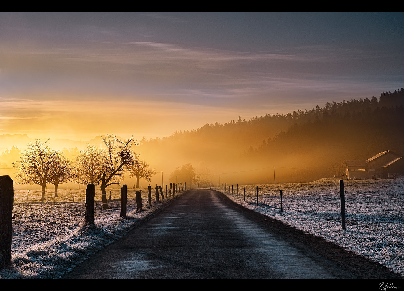 Photograph Morning Road by Robin Halioua on 500px