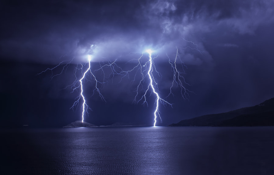 Photograph Lightning-1 by Devrim Çelebi on 500px