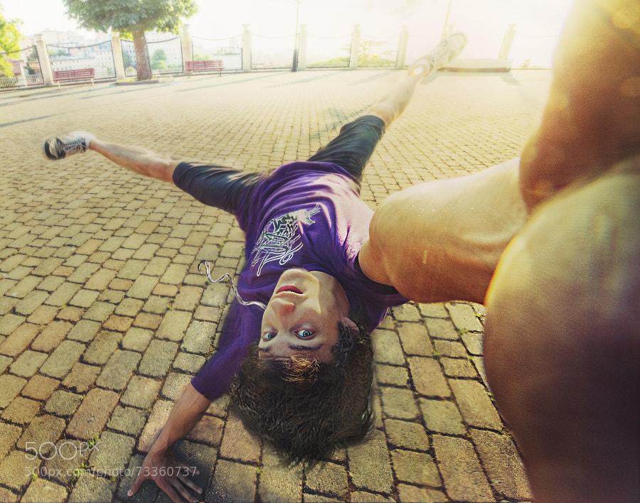 Photograph Breakdance Selfie by Claudio Kaio Osvaldini on 500px