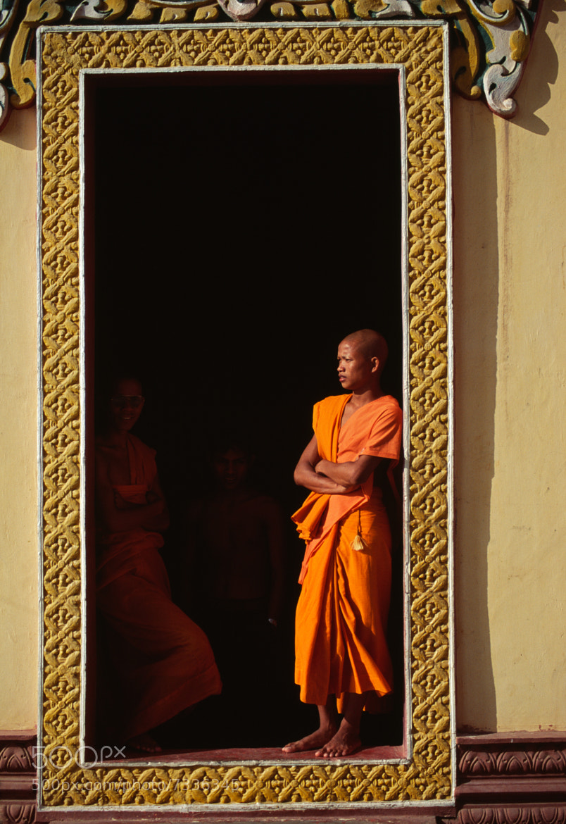 Photograph Cambodian Monk by Trevor Cole on 500px