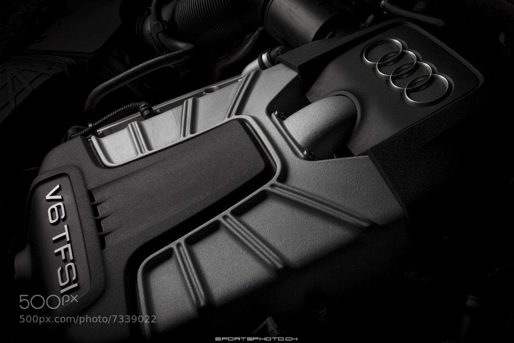 Photograph Audi V6 TFSI Engine by Markus Seidel on 500px
