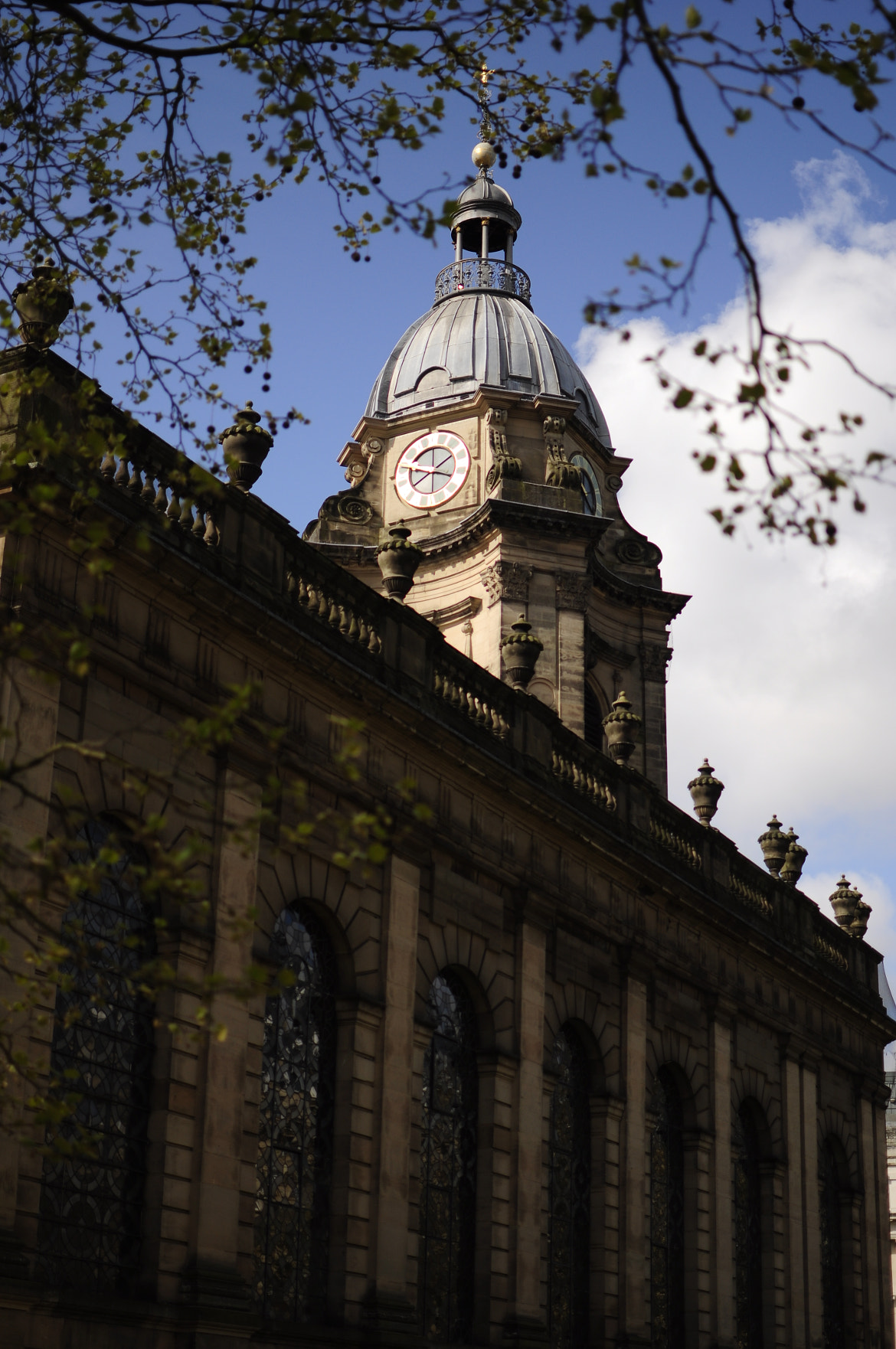 Photograph Birmingham Cathedral and clock tower by Paul Webb on 500px