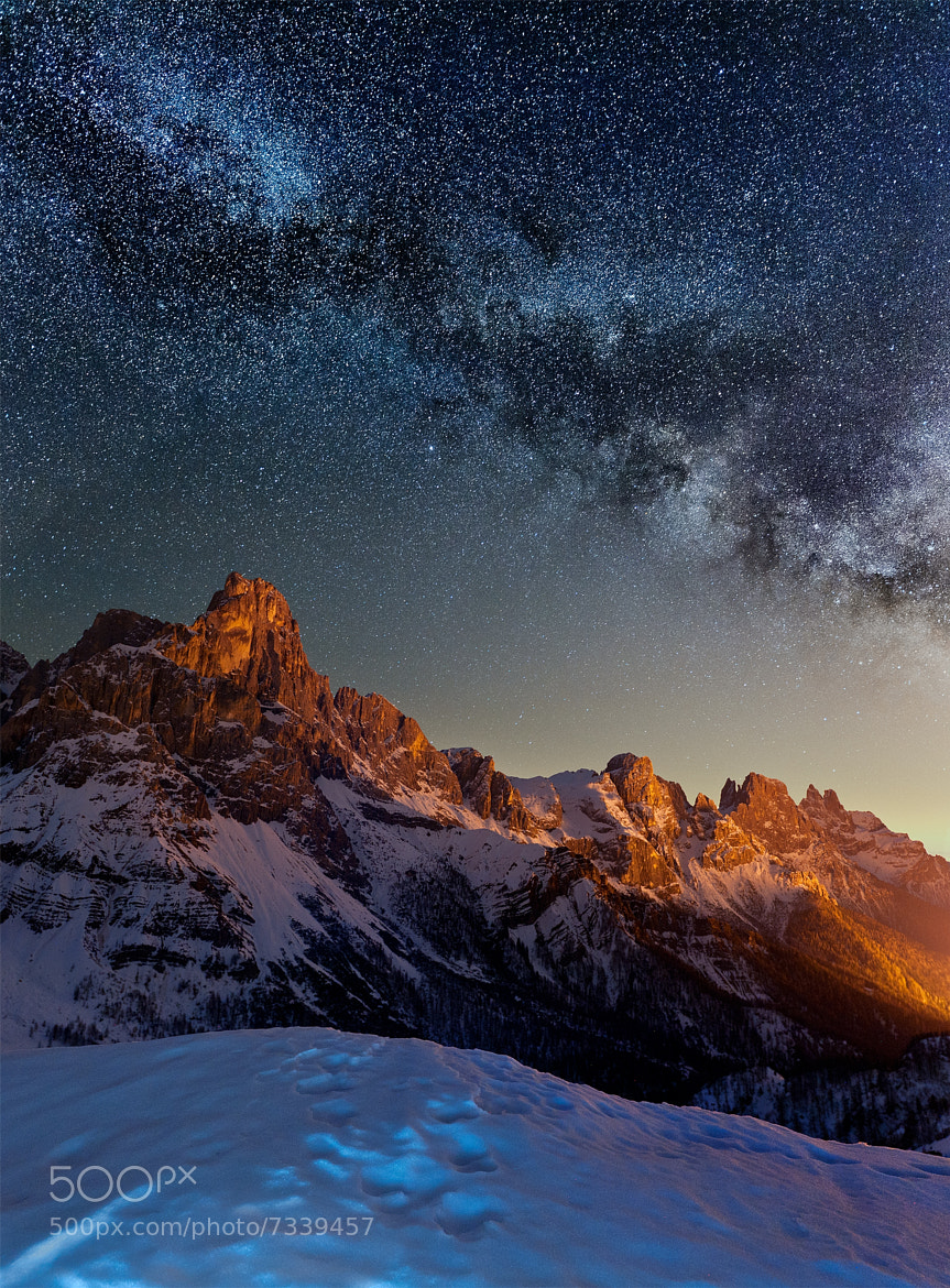 Photograph Starlight by Claudio Dalla Costa on 500px