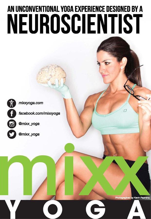 LJ Mixx BrainPoster