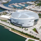 ������, ������: American Airlines Arena Miami Tilt Shift Image
