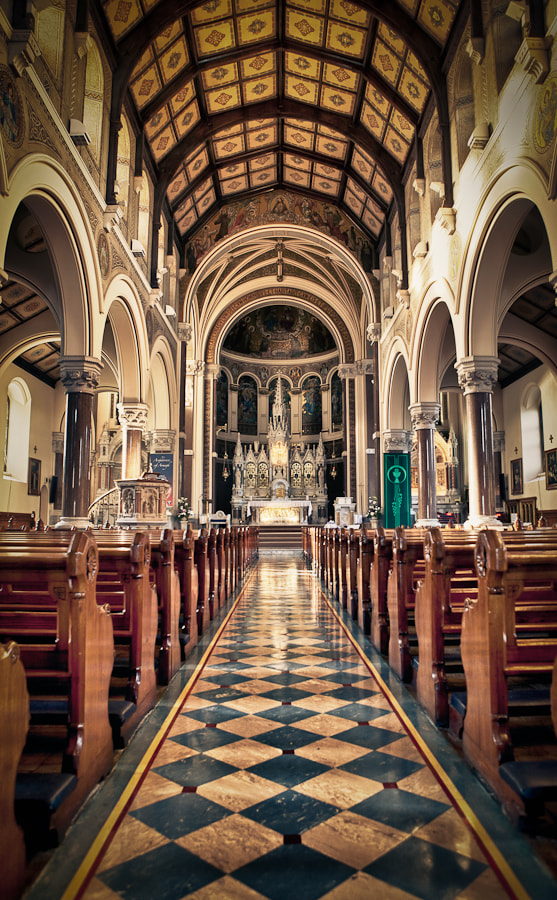 Photograph Inside Chruch in Ireland by Philipp Wedel on 500px