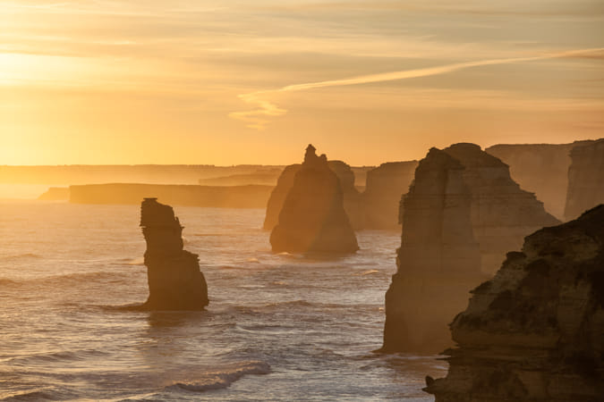 Twelve Apostles rock formations, Australia by Heather Balmain on 500px