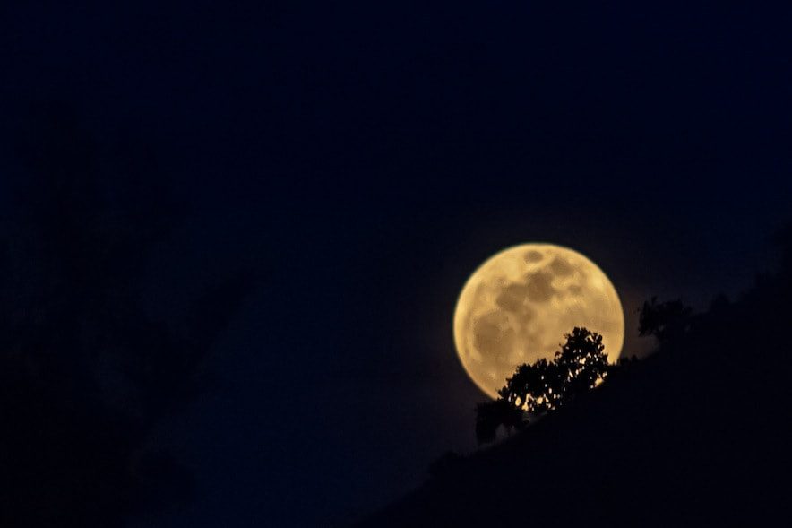Photograph Supermoon by Pratik  on 500px