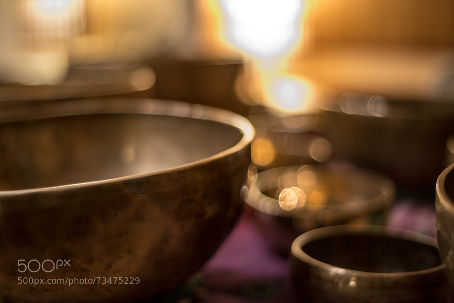 Photograph Tibetan Singing Bowls by Andrey Zagreev on 500px