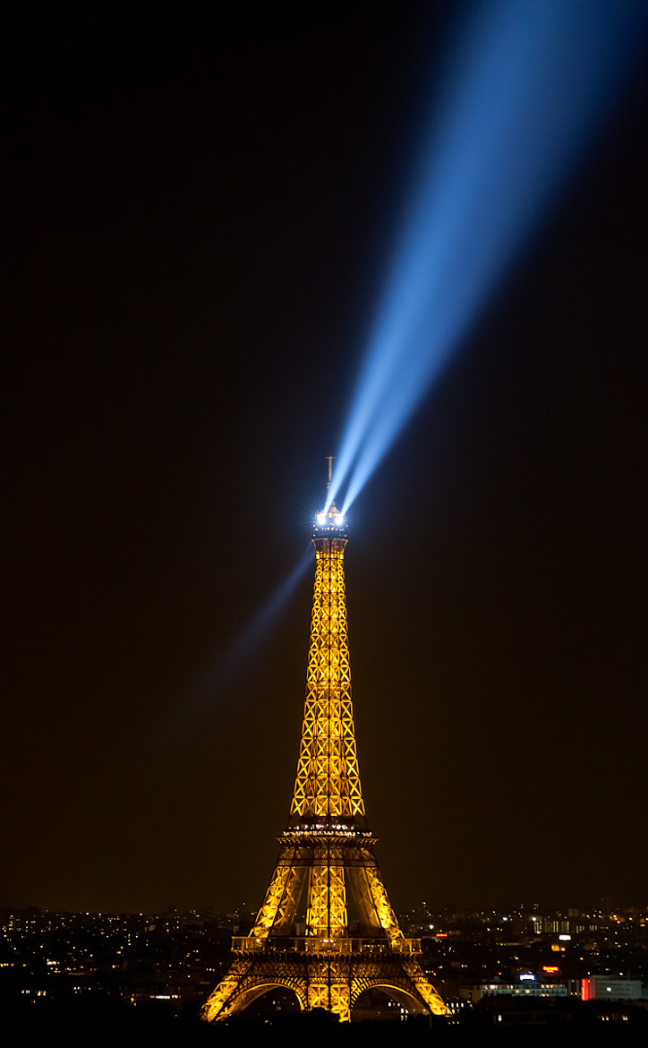 Photograph Eiffel Tower at night by Markus Meier on 500px