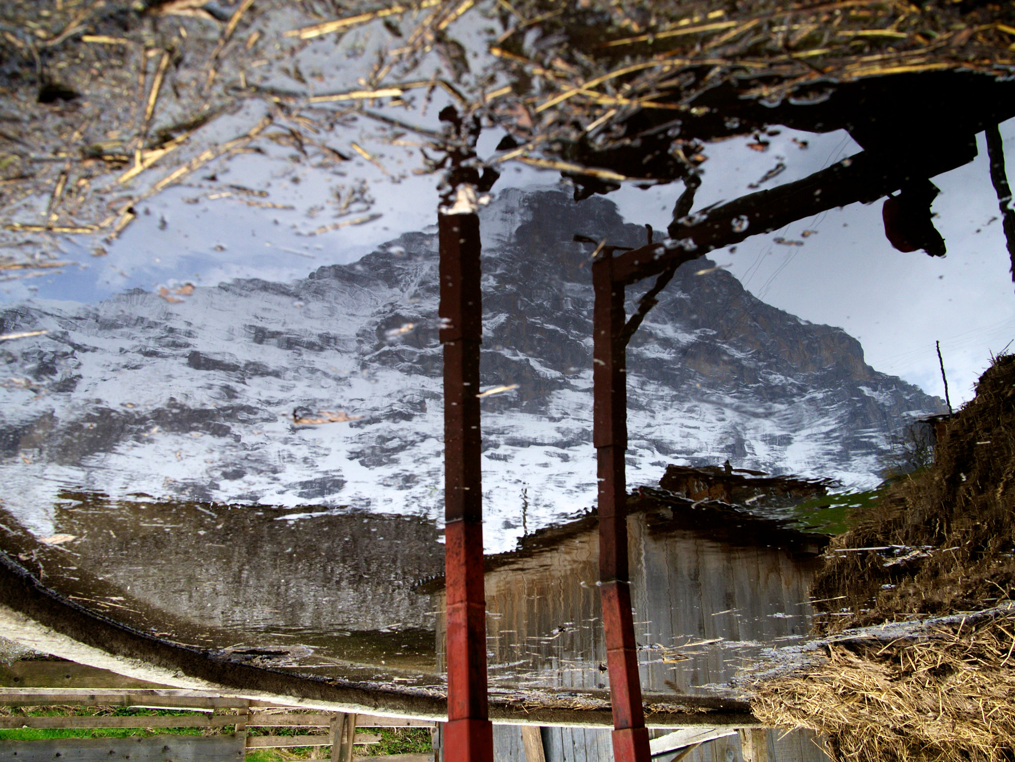 Photograph Eiger-reflection I by Martin B on 500px