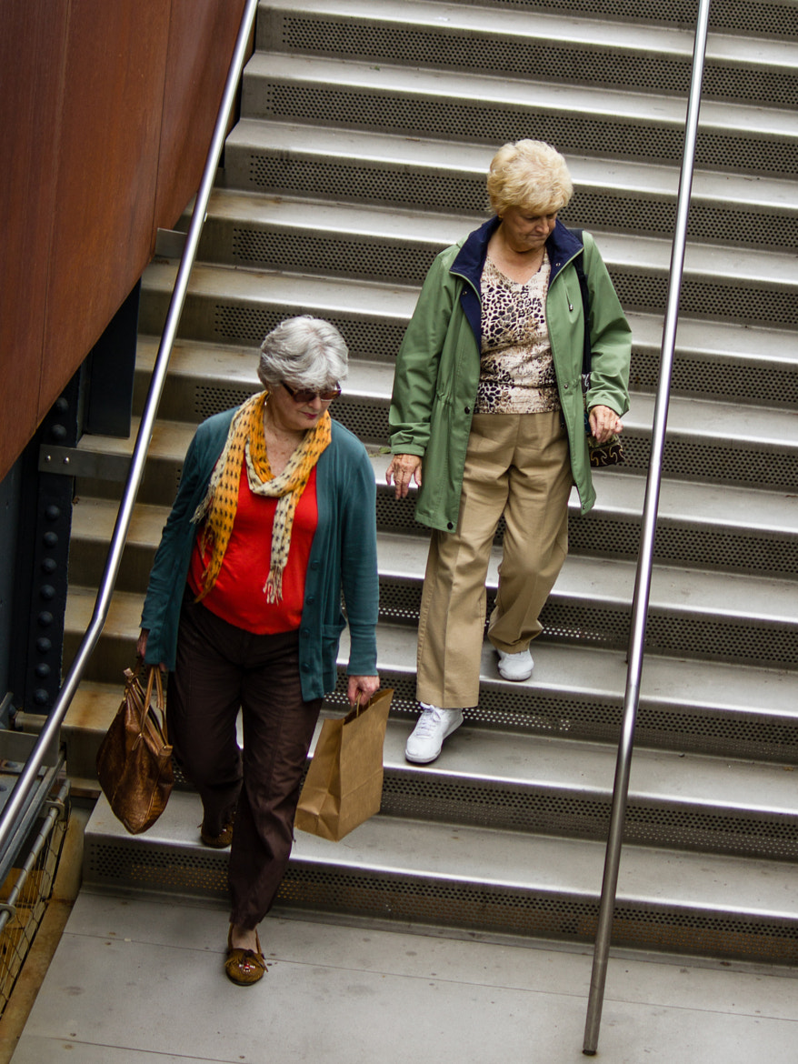 Photograph Women on Stairs by Stuart Greenberg on 500px
