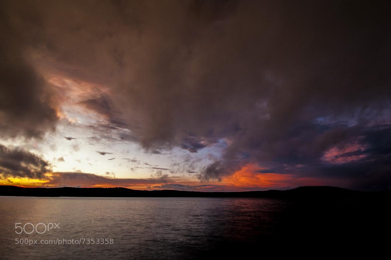 Photograph chibougamau sunset by Louis Caya on 500px