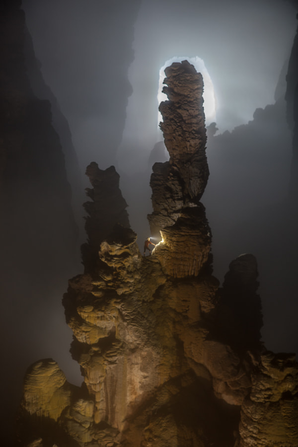 Photograph The world's tallest stalagmite. by john spies on 500px