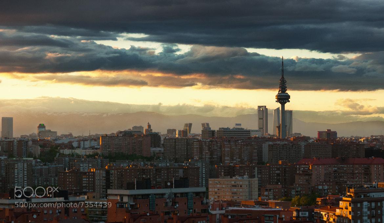 Photograph Madrid Skyline by Hugo Alfaro on 500px