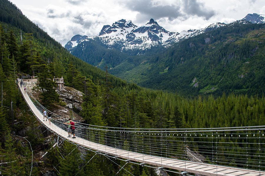Photograph Spirit Bridge, Squamish by Tyler Ingram on 500px