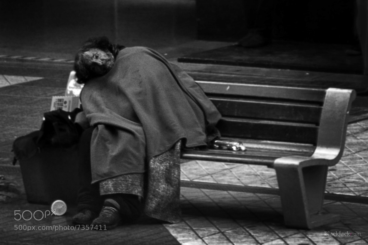 Photograph Forgotten Man by Jorge Hernández on 500px