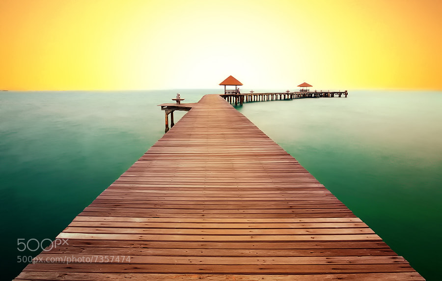 Photograph Rayong Resort Bridge by Kawin Samer on 500px