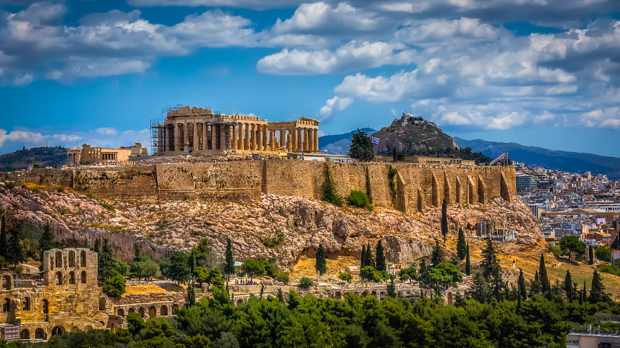 Photograph Acropolis, Greece by Alex Galenko on 500px