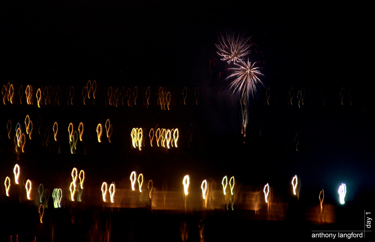 Photograph Fireworks by Anthony Langford on 500px