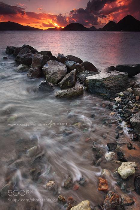 Photograph Caribbean Fire by Nate Zeman | natezeman.com on 500px